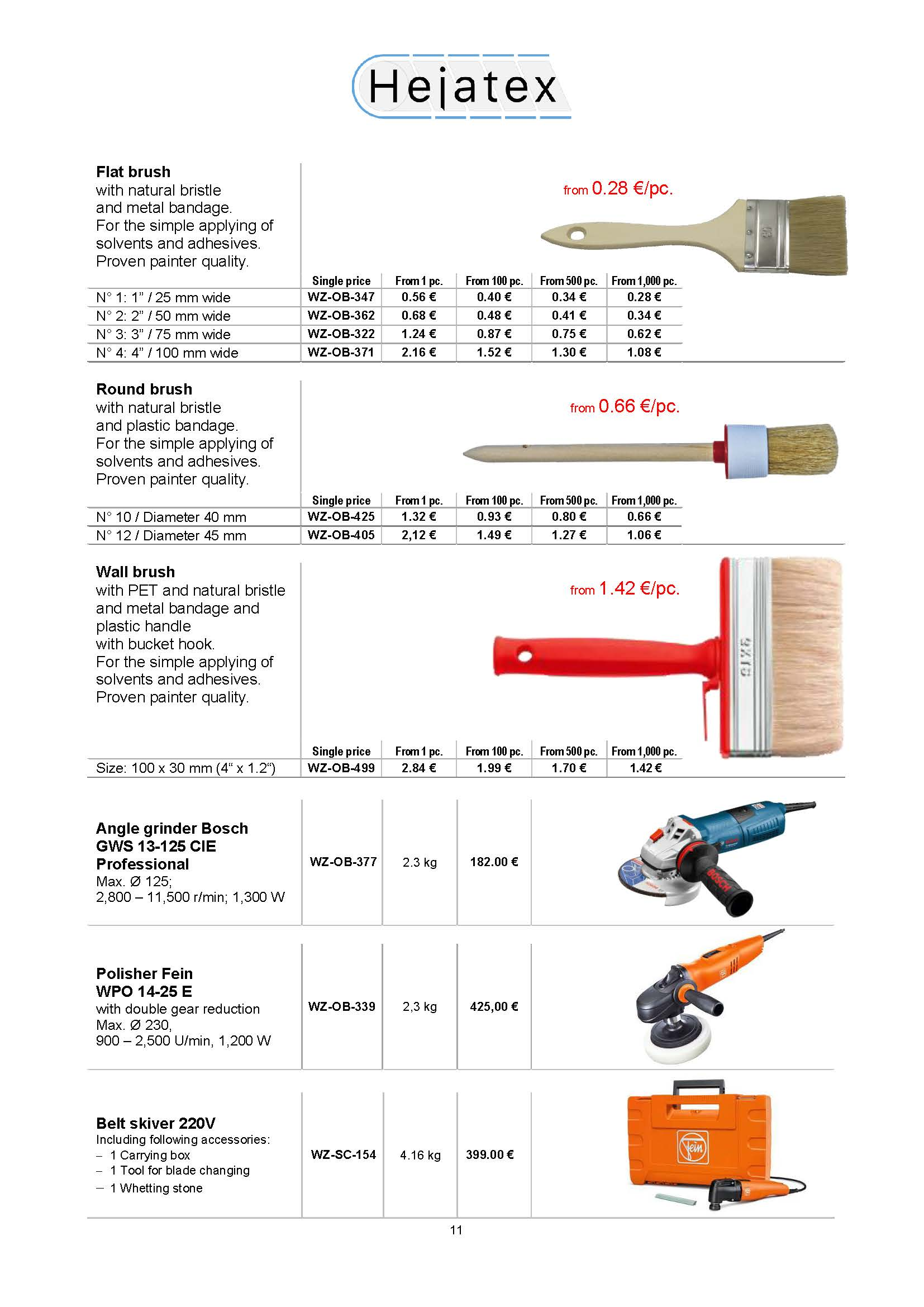 Presentation Polymer Glue Multiface with technical data sheet and price list 2019__Page_11